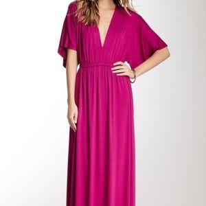 Fuchsia Rachel Pally Maxi Dress, Sz Lg